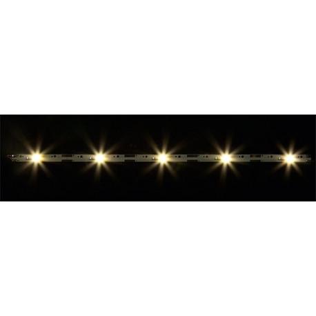2 rampes d'éclairage avec 5 LED, blanc chaud / 2 LED bar spotlights, warm white