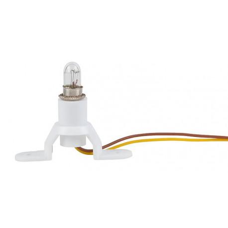 Socquet et lampe / Building light