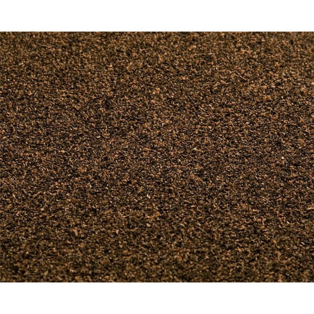Tapis cailloutis brun fonce / Ground mat, Ballast, dark brown