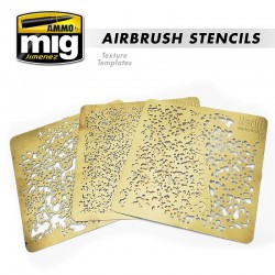 Airbrush Stencils Texture Template