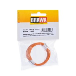 Câble Orange / Decoder wire Orange 0,05mm², 10m