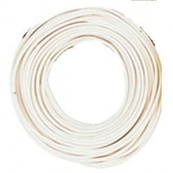 Câble Blanc / Decoder wire White 0,05mm², 10m