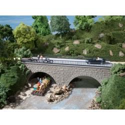 Petit pont de route / Small road bridge H0