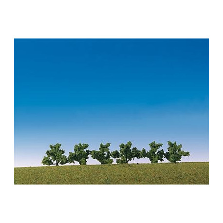 6 Buissons / 6 Bushes, green