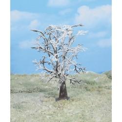 4 Arbres enneigés / Winter Trees, 18cm
