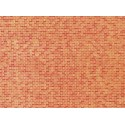 Mur de briques rouges / Wall card, Red brick N