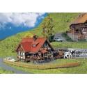 Maison rurale à pans de bois / Rural half-timbered house N