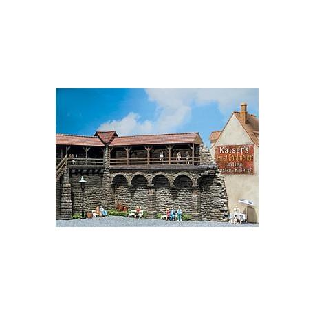 Enceinte vieux quartiers / Old-Town wall N