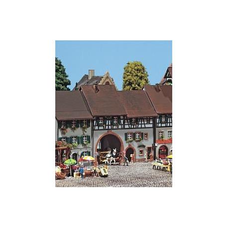 Porte de ville moyen-âge / Schwabentor Town house N