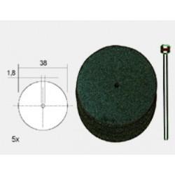 Disques à Tronçonner en Corindon ø 38 x 0,7 mm, 5 pièces
