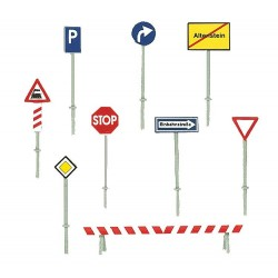 Panneaux de signalisation / Set of traffic signs N