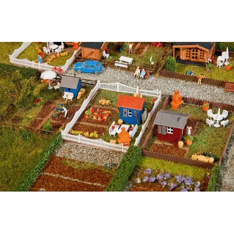 Set jardin ouvrier n°2 / Allotment garden set 2 N