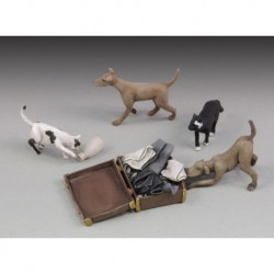 Chiens & Chats / Dogs & Kats 1/35