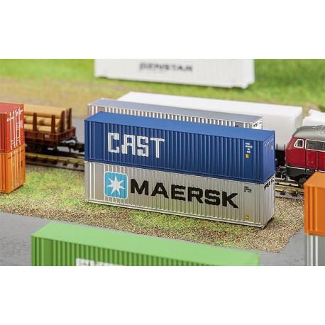 "40 FT Hi-cube container ""Cast"" N"