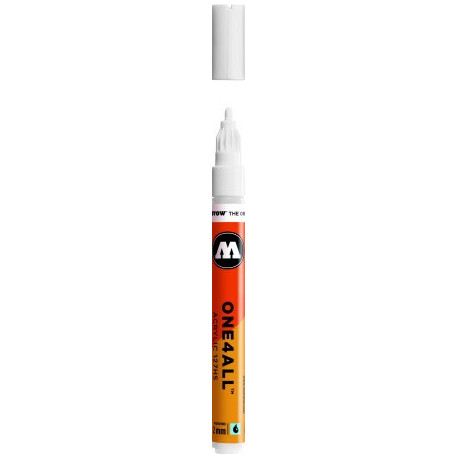 One4All Crossover Marqueur Acrylique Signal Blanc / Acrylic Marker Signal White 2116 2mm