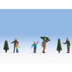 Vente d'Arbres de Noël / Selling Christmans Trees H0