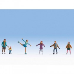 Patinage / Ice Skaters H0
