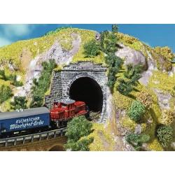 2 entrées de tunnel Z