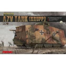 German A7V Tank (Krupp), WWI 1/35