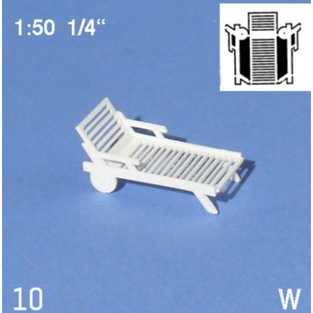 Chaise longue / Deck Chairs 1/50