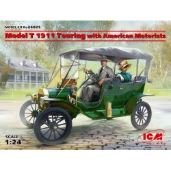 Model T 1911 Touring with American Motorists, WWI 1/35