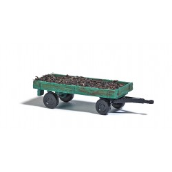 Remorque à lisier / Farm trailer with manure load N