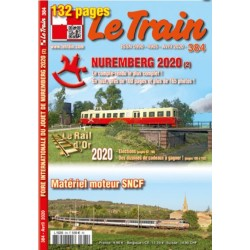 "Revue ""Le Train"" n°384 Avril 2020"