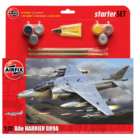 Starter Set BAe Harrier GR9A 1/72