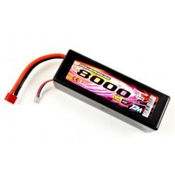 Accu Li-Po 7.4V 8000 mAh 45C, Prise Dean/XH