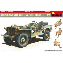 Bantam 40 BRC with British Crew 1/35