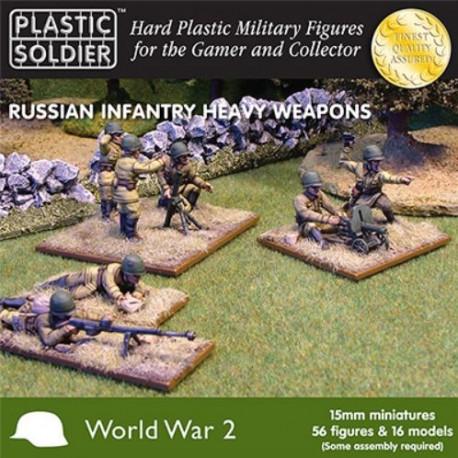 Infanterie et armes lourdes russes WWII