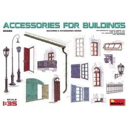Accessoires pour immeubles / Accessories for Buildings 1/35