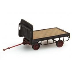Chariot Electrique de quai / Luggage trolley H0