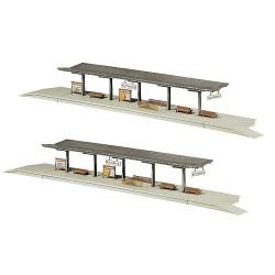 2 Quais / Platforms N