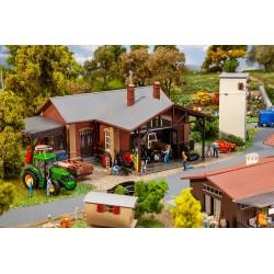 Atelier de machines agricoles / Agricultural machine workshop H0