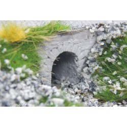 28285 Juweela 4 Ponts souterrain / 4 Water Passages Bricks Grey H0