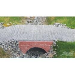 3 Ouvrages de franchissement / 3 Water Passages Bricks Red H0