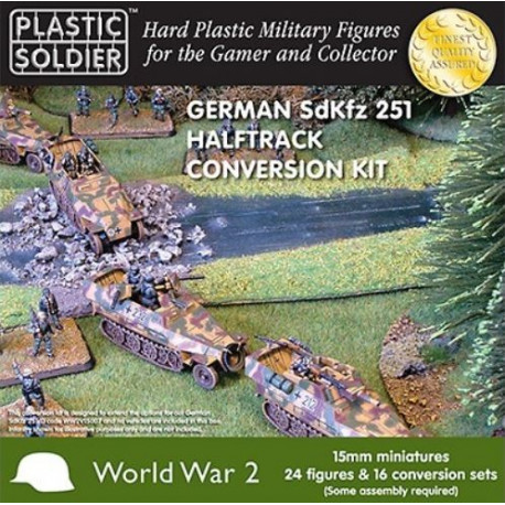 Kit de conversion SdKfz 251 Halftrack allemand WWII / German SDKFZ 251 Halftrack Conversion Kit WWII