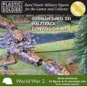 Kit de conversion SdKfz 251 Halftrack allemand WWII / German SDKFZ 251 Halftrack Conversion Kit WWII, 15mm