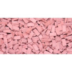 500 Briques Rouge Clair / Light Red Bricks 1/32-1/35