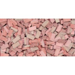 500 Briques Mix Rouge / 500 Red Mix Bricks 1/32-1/35