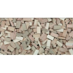 500 Briques Mix Terracotta / 500 Terracotta Mix Bricks 1/32-1/35