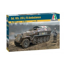 Sd.Kfz. 251/8 Ambulance 1/72