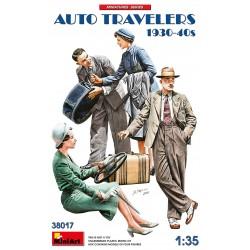 Auto Travelers 1930-40s 1/35