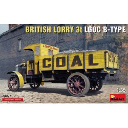 British Lorry 3T LGOC B type 1/35