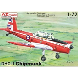 DHC-1 Chipmunk, Decals Belges, 1/72