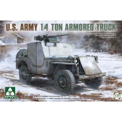 US Army 1/4 Ton Armored Truck 1/35