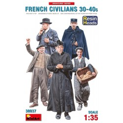 French Civilians '30-40 1/35