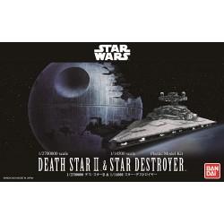 Death Star II 1/2700000 & Imperial Star Destroyer 1/14500