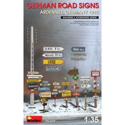 German Road Signs Ardennes '45 1/35